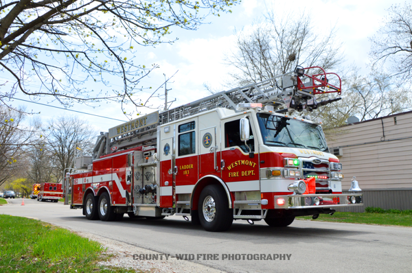 Westmont FD Ladder 183