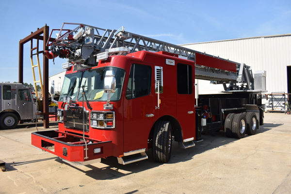 fire truck being built for the Champaign FD