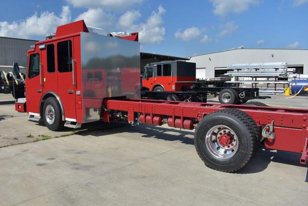 new Ferrara fire truck chassis