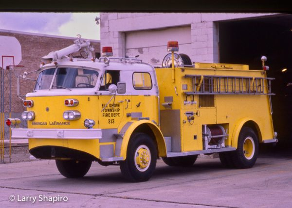 Elk Grove Township FPD American LaFrance crash truck
