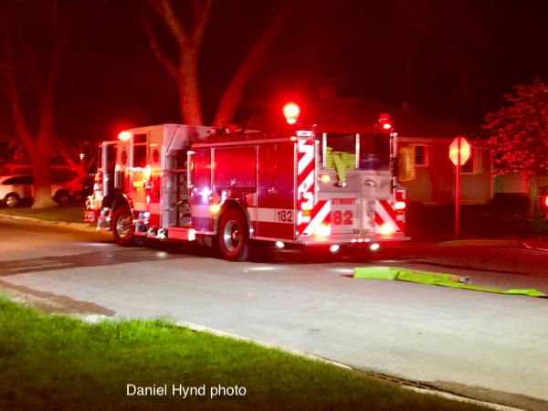 Westmond FD fire engine