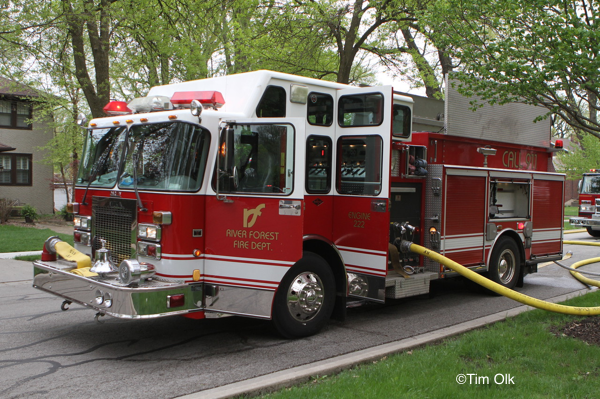 River Forest FD Engine 222