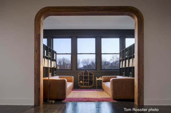 renovated former Chicago firehouse