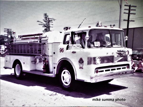 vintage Mokena FPD Engine 96