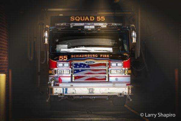 Schaumburg FD Squad 55 Pierce Velocity