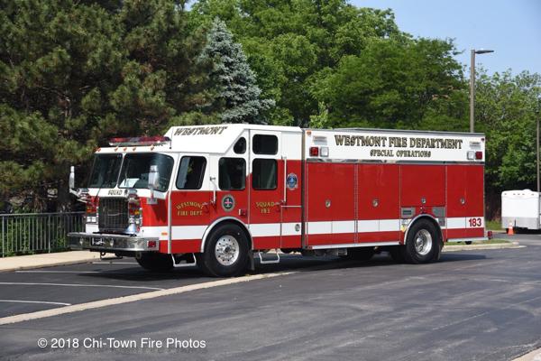 Westmont FD Squad 183