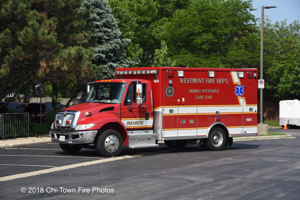 Westmont FD Ambulance 184