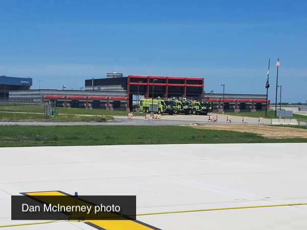 Chicago FD ARFF units at O'Hare Airport