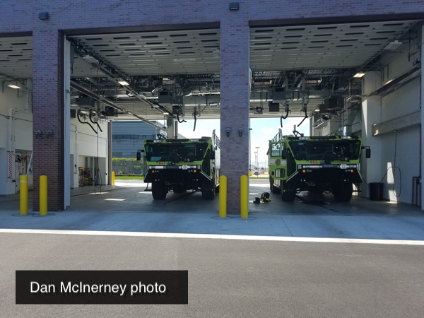 ARFF FD annex at O'Hare Airport