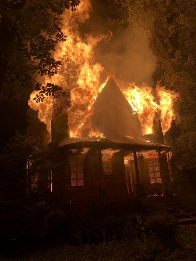 historic Riverside Lawn home destroyed by fire