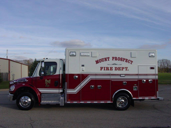 Mount Prospect FD ambulance