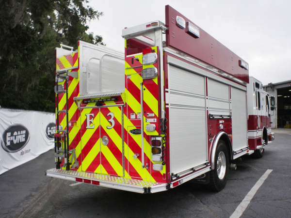 Bolingbrook FD E-ONE fire engine