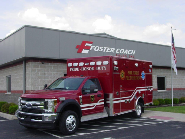 Park Forest FD ambulance