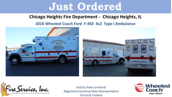 Chicago Heights FD ambulances