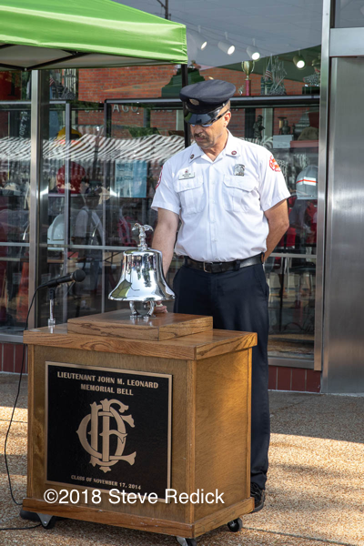 fire department bell ringing ceremony