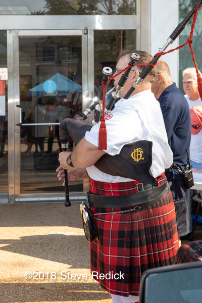fire department bagpiper