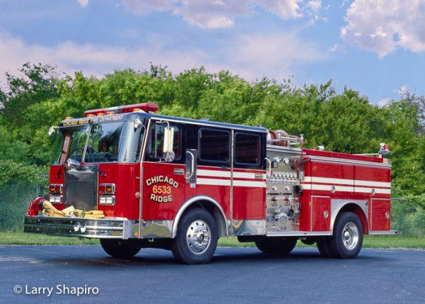 1988 Spartan Gladiator E-ONE fire engine