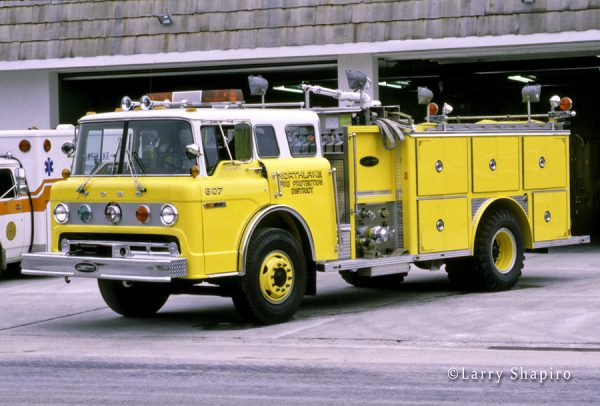 Northlake FPD, IL - Engine 807 - 1979 Ford C8000/Emergency One 1250/750 so #1134