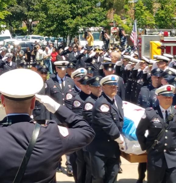 Funeral for Chicago Fire Department Firefighter Juan Bucio. 6/4/18
