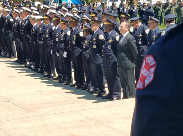 Funeral for Chicago Fire Department Firefighter Juan Bucio. 6/4/18