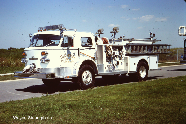 Dixmoor FD American LaFrance fire engine