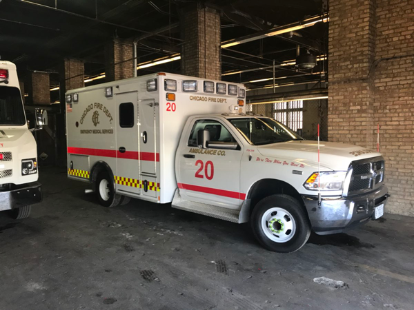 Chicago FD Ambulance 20