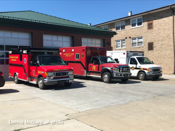 Merrionette Park FD ambulances