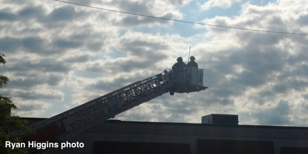 Park Ridge FD tower ladder