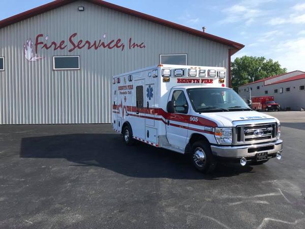 Berwyn FD Ambulance 905