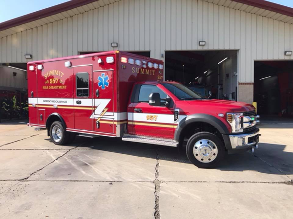 Summit FD Ambulance 937