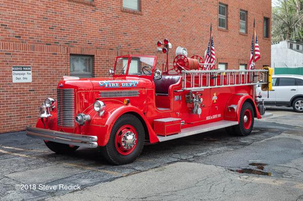 Kirsch antique fire engine