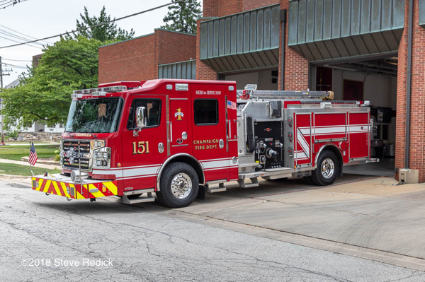 Champaign FD Engine 151