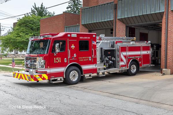Champaign FD Engine 151