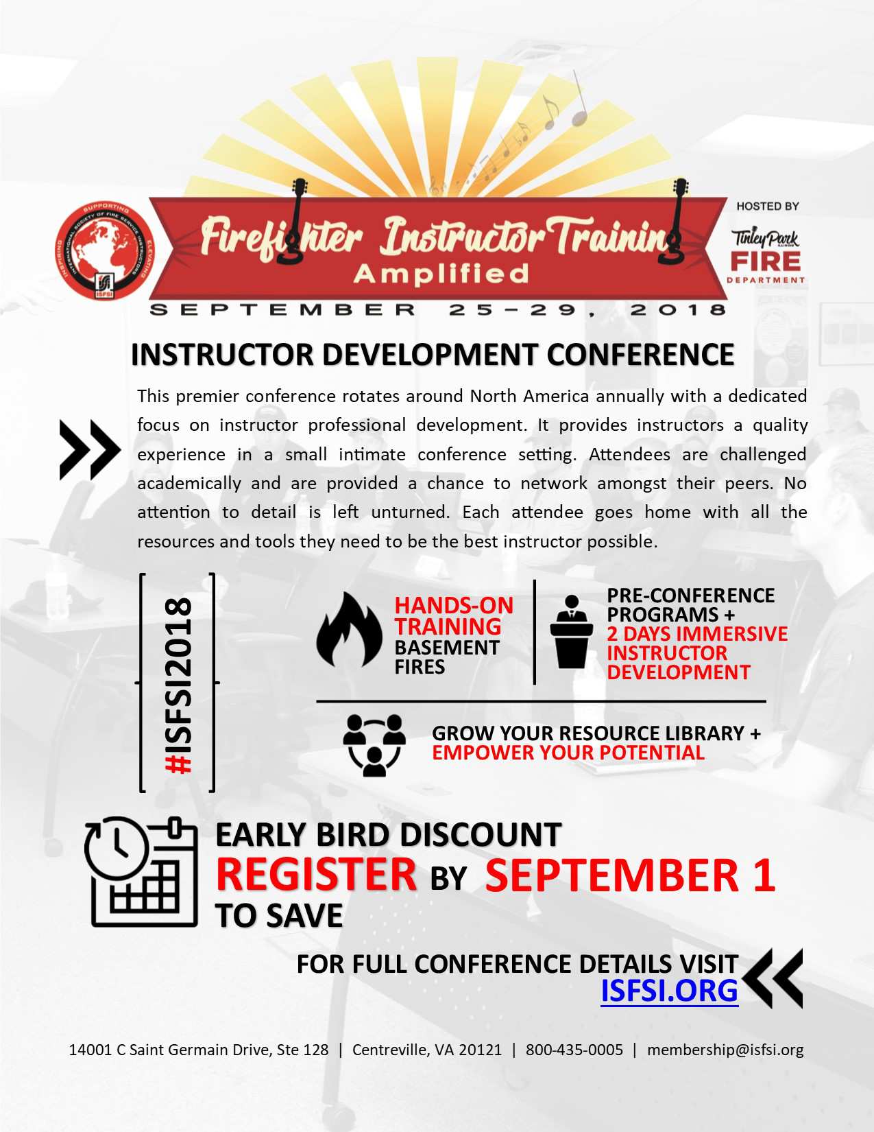 ISFSI Fall Conference - Tinley Park IL - Sept. 2018