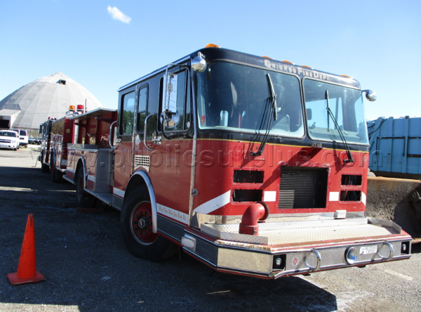 surplus Chicago FD 1992 Spartan/Luverne fire engine for sale
