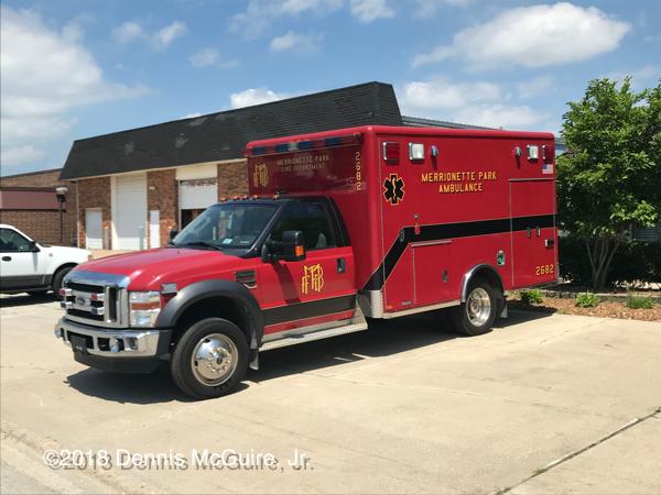 Merrionette Park FD Ambulance 2682