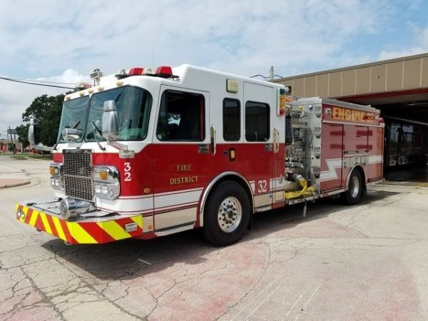 2003 Spartan Gladiator Crimson pumper for sale