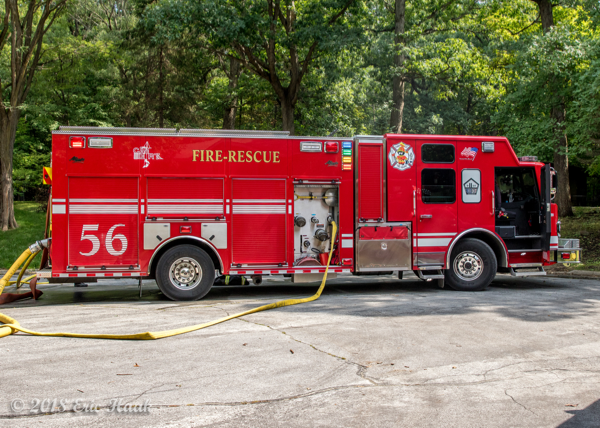 Park Forest FD Engine 56