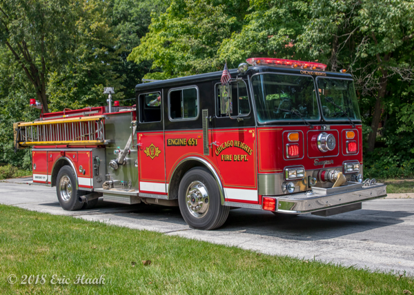 Chicago Heights FD Engine 651