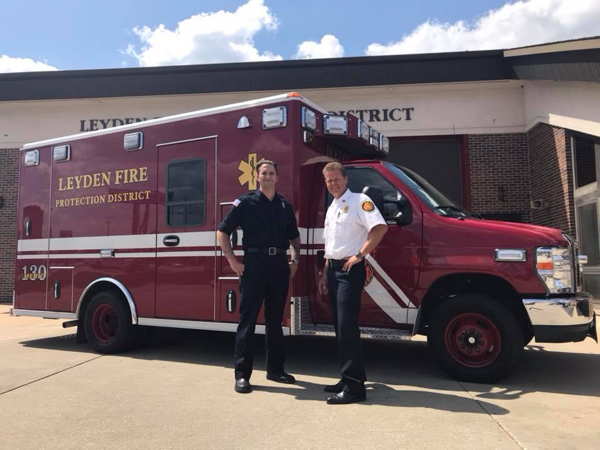Leyden Township Fire District Medic 130
