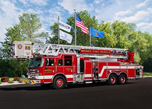 New fire truck for the Monee FPD