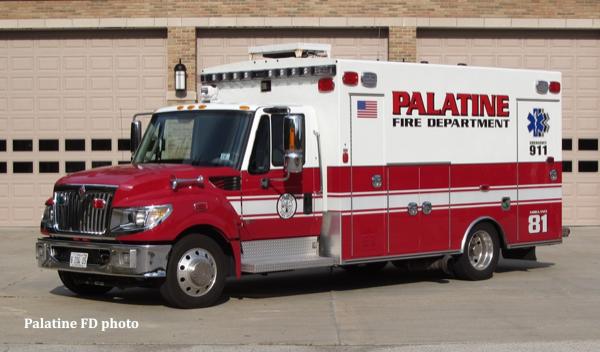 Palatine FD Ambulance 81