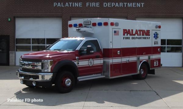 Palatine FD Ambulance 83