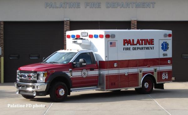 Palatine FD Ambulance 84