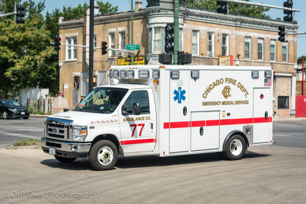 Chicago FD Ambulance 77