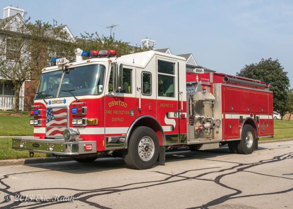 Oswego FPD Engine 4