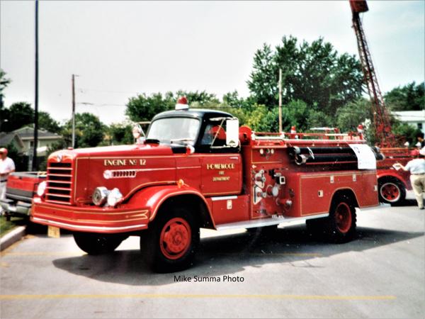 Homewood FD 1957 FWD fire engine