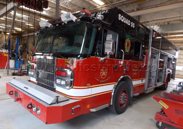 2006 Spartan/Rosenbauer fire engine for sale
