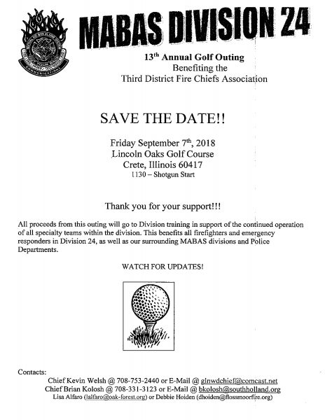 MABAS Division 24 golf outing