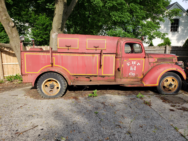 1941 Ford fire truck for sale